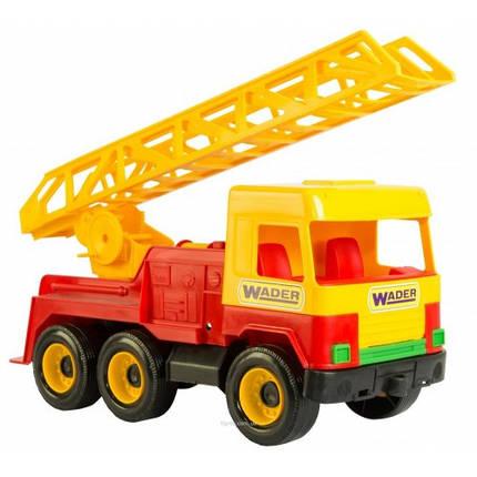 Middle truck пожежна 25*17*47см (Wader), фото 2