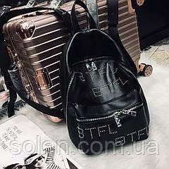 Молодёжный рюкзак из натуральной кожи. Стильный кожаный рюкзак женский.