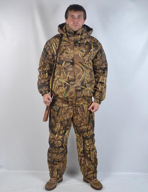 Зимние утепленные костюмы для охоты и рыбалки