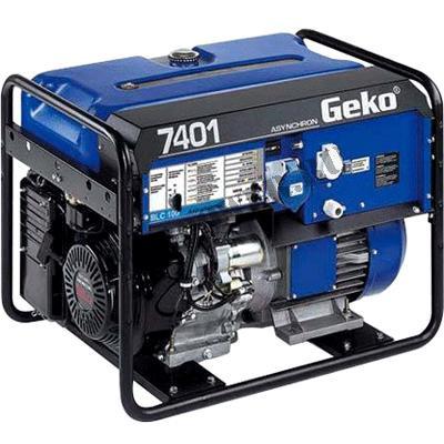 Трехфазный бензиновый генератор Geko 7401 ED-AA HHBA (6,4 кВт)