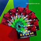 Магнитные визитки, производство магнитов 90х50 мм, фото 2