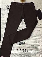 Мужские/подростковые утепленные брюки на флисе, 27 р.