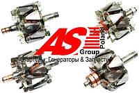 Ротор (якорь) генератора BMW. БМВ. Детали генераторов AS.