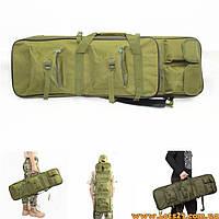 Чехол для винтовки, ружья, карабина, автомата 115см (оружейная сумка, оружейный рюкзак, кейс для оружия)