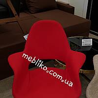 Дизайнерское кресло в ткани с подлокотником Organic АC-150KS,Charles Eames & Eero Saarinen красное