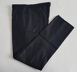 Мужские утепленные брюки черного цвета