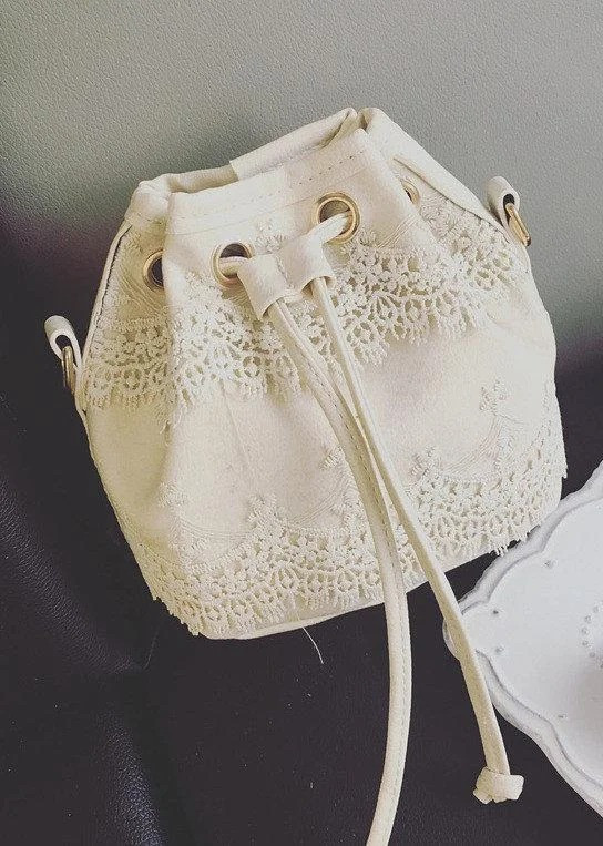 Женская сумка ажурная