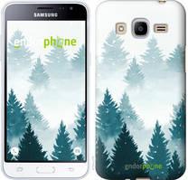 """Чехол на Samsung Galaxy J2 (2016) J210 Акварельные Елки """"4720u-270-535"""""""