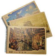 Альбом для рисования А4 40л. Офорт Kraft 120г/м2 спираль AR4740