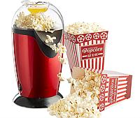 Апарат для приготування попкорну машина для попкорна 1200 Вт UKC Popcorn Maker червоний