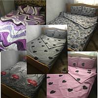 Точные Размеры! Полуторный комплект постельного белья, бязь Голд Люкс, 145х220 см, наборы в ассортименте