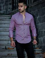 Турецька чоловіча сорочка в смужку, фото 1