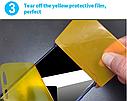Гидрогель пленка для Xiaomi Redmi Note 8Pro   Новинка ! Полиуретановая пленка Гидрогелевая пленка, фото 6