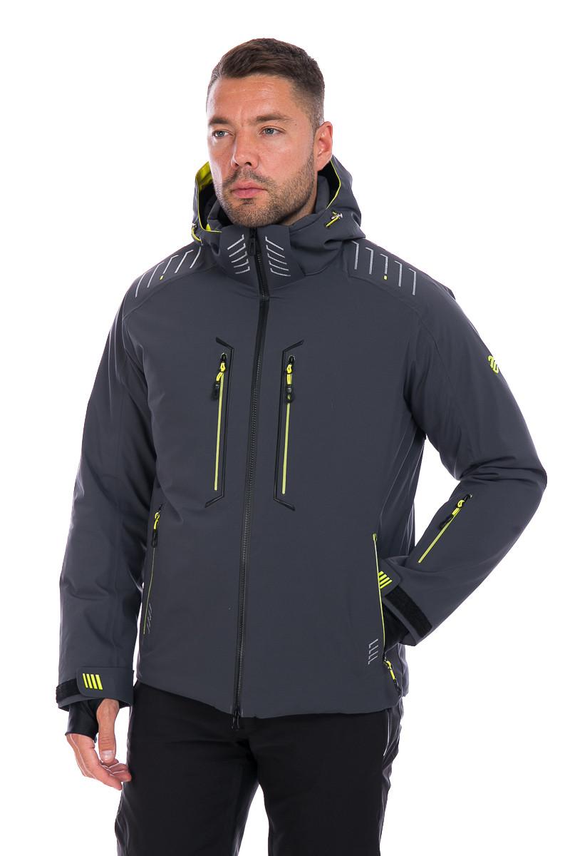 Мужская горнолыжная Куртка WHS ROMA Серый 3XL