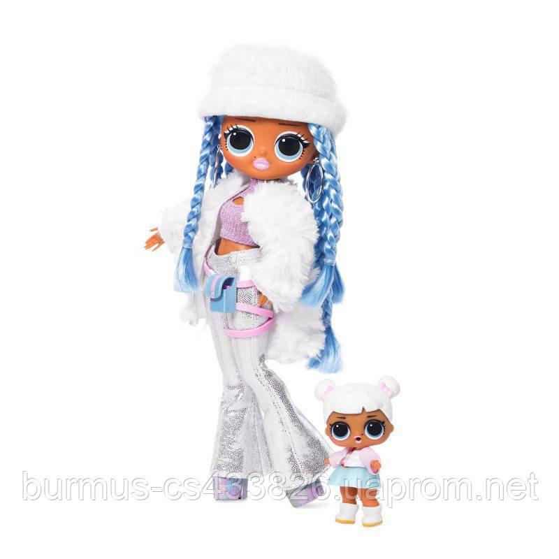 Кукла Lol OMG Winter Disco 2 волна Snowlicious + кукла Snow Angel