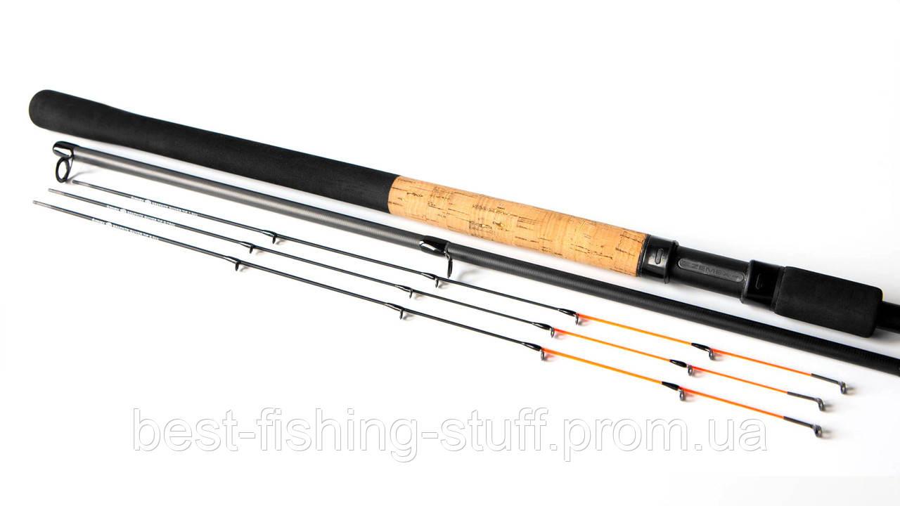 Фидерное удилище ZEMEX IRON Feeder 300см 40г Light