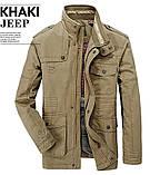 JP original 100% бавовна Чоловіча куртка мілітарі, фото 3