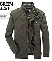 Jeep original 100% хлопок Мужская куртка в стиле милитари джип, фото 1