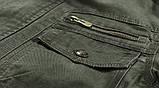 JP original 100% бавовна Чоловіча куртка мілітарі, фото 7