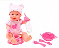 Кукла-пупс Симба Уход за малышом, 30 см, New Born Baby (503 0005)
