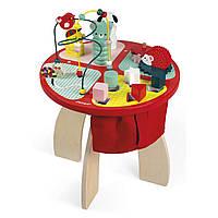 Игровой детский столик Janod Животные (J08018)