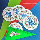 Изготовление фотомагнитов. Рекламный магнит на холодильник. Диаметр 68 мм, фото 6