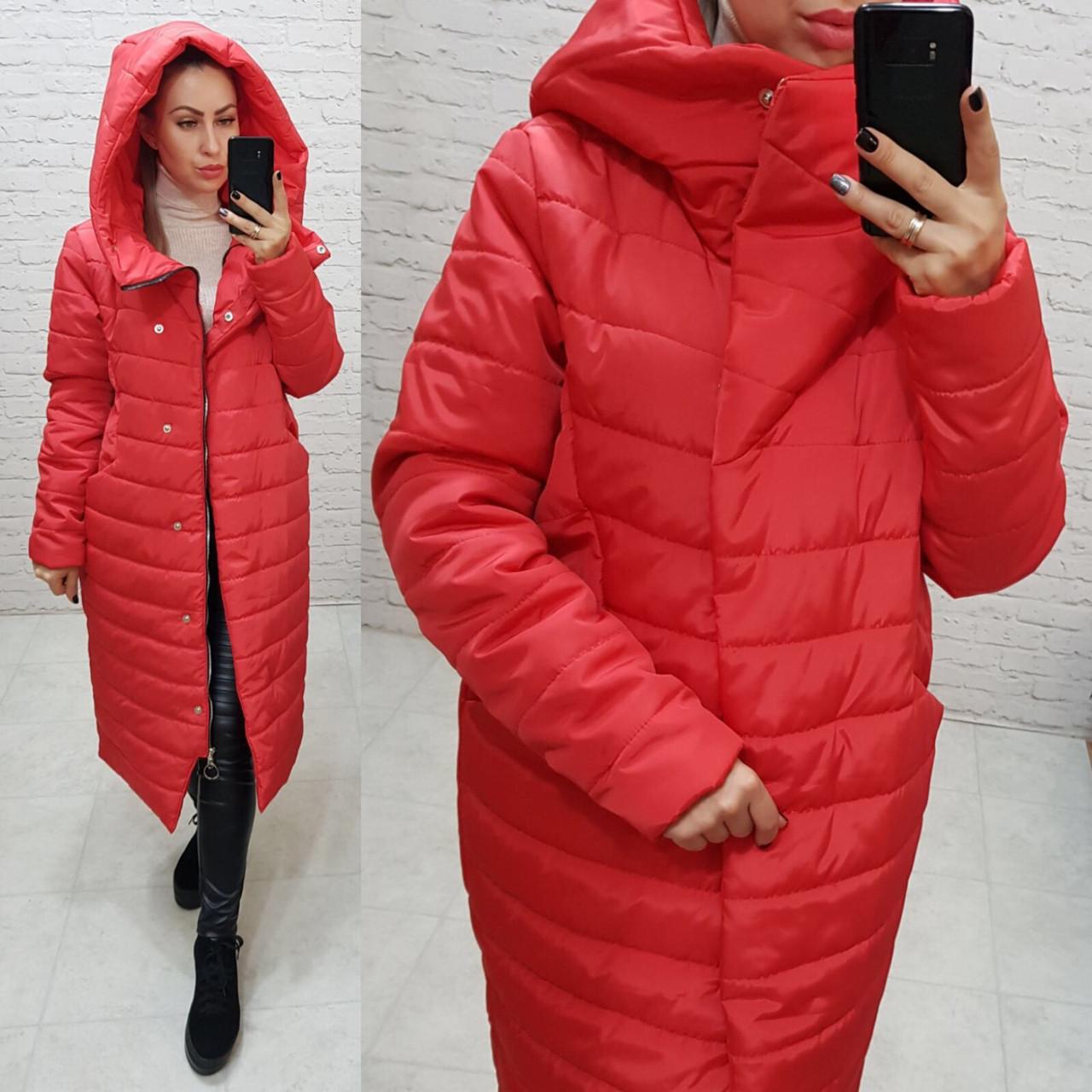 Куртка женская красного цвета, арт. 180