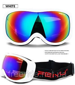 Лыжная маска FEIYU (071) очки для сноуборда белая