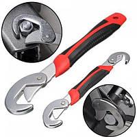 Универсальный гаечный разводной ключ набор 2 шт. в комплекте для сантехников авто и инженеров  Snap N Grip, фото 1