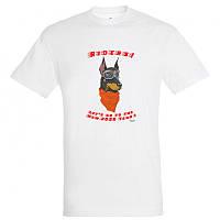 """Байкерская новогодняя футболка """"Dog Riders"""" 2020, фото 1"""