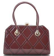Женская лакированная сумка K-91798 red Сумки женские лакированные. Купить выгодно