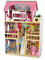 Ігровий ляльковий будиночок Ecotoys 4109 Roseberry + 2 ляльки