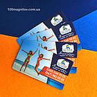 Магнитные визитки, производство магнитов 90х50 мм, фото 6