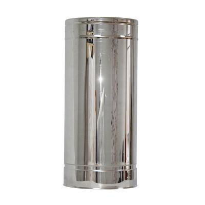 Труба дымоходная 0,5м нерж/нерж ø130/200мм