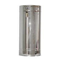 Труба дымоходная 0,5м нерж/нерж ø150/220мм