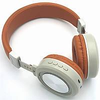 Беспроводные наушники с микрофоном Bluetooth гарнитура с MP3 FOKS SY-BT1614, фото 1
