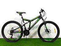 Горный двухподвесный велосипед Azimut Dinamic 26 GD Shimano ( 18,5 рама)