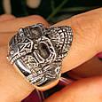 Серебряное кольцо Череп, фото 9