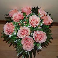 """М-510 Букет роз """"Санта Лючия"""" 45х10см, фото 1"""