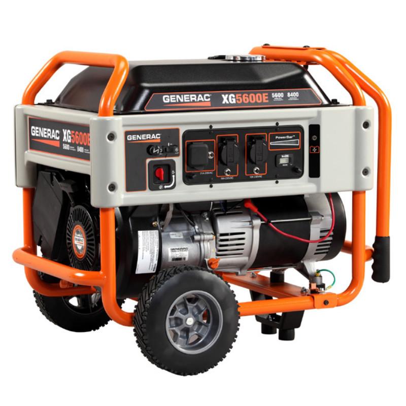 Однофазный бензиновый генератор GENERAC XG5600E (5,6 кВт)