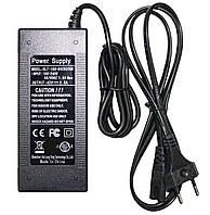 Зарядное устройство для зарядки электровелосипеда гироборда гироскутера сигвея сетевой адаптер  с кабелем 42V 2A UKC, фото 1