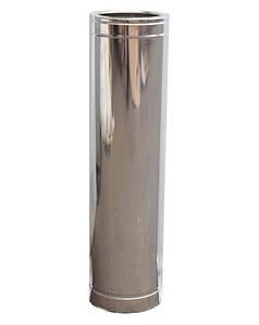 Труба дымоходная 1м нерж/нерж ø130/200мм