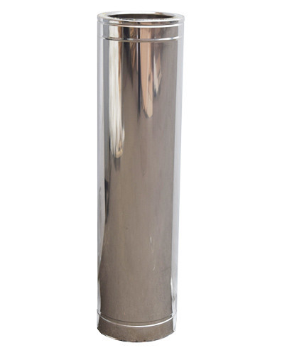 Труба дымоходная 1м нерж/нерж ø250/320мм
