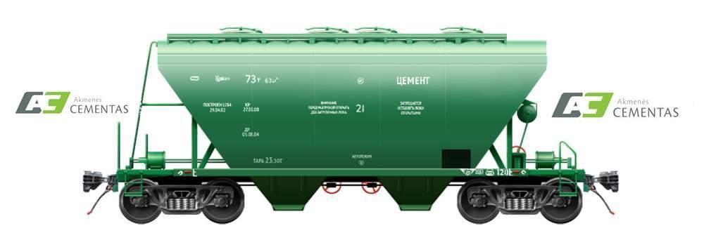 Портландцемент тип CEM I 42,5N (навал) Литва