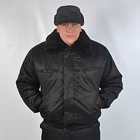 Куртка для охраны утепленный однотонная