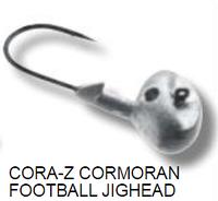 Cora-z Football jighead джиголовка