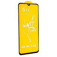 Защитное стекло Premium 6D для Xiaomi MI 9 SE 2019 Черный