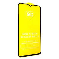 Защитное стекло 9D для Xiaomi Redmi Note 8 Pro Черный