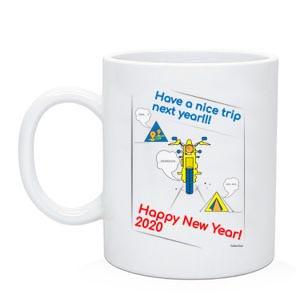 """Байкерська чашка """"Have a nice trip"""" 2020"""