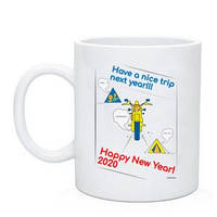"Байкерская чашка ""Have a nice trip"" 2020"
